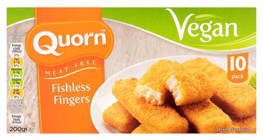 quorn fishless