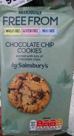 s choc chip cookie