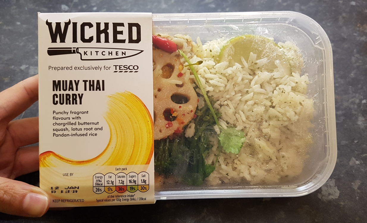 wicked kitchen muay thai curry ready meal - Wicked Kitchen